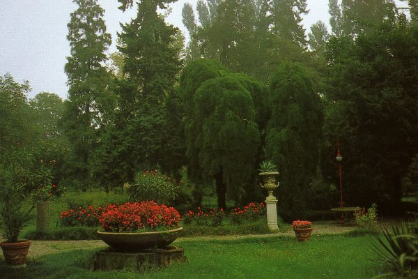 Parco di una villa